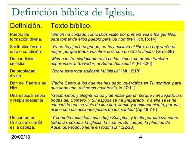 """Definición bíblica de Iglesia.Definición.          Texto bíblico.Pueblo de            """"Simón ha contado como Dios visitó p..."""