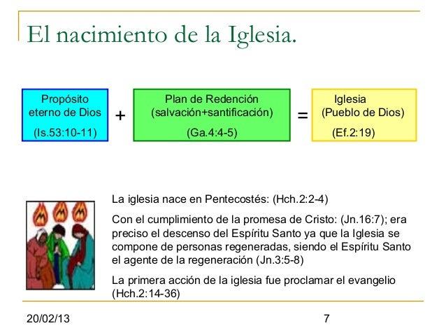 El nacimiento de la Iglesia.   Propósito               Plan de Redención                 Iglesiaeterno de Dios            ...