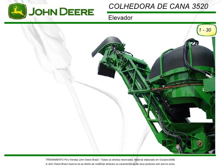 COLHEDORA DE CANA 3520                                                         Elevador                                   ...