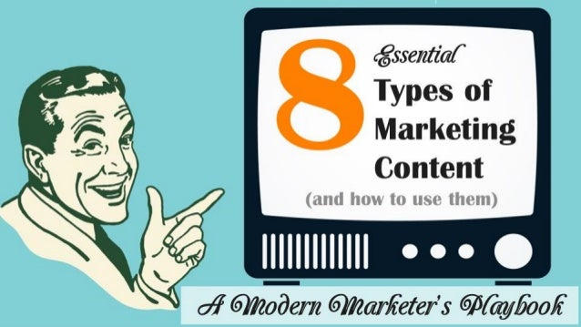 Types of Marketing Content 8(and how to use them)