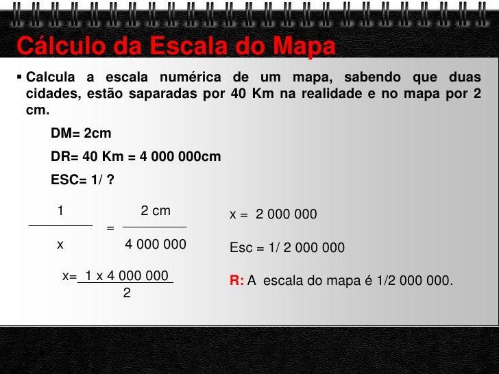 como calcular a escala dum mapa 8 exercícios escalas como calcular a escala dum mapa