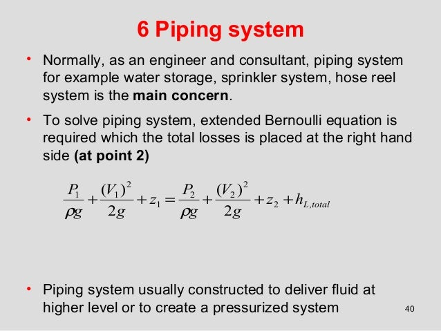 piping flow - Isken kaptanband co