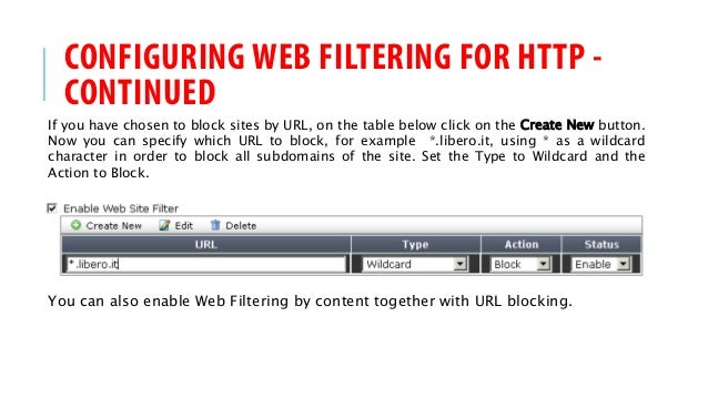 FortiGate Firewall How-To: WEB Filtering