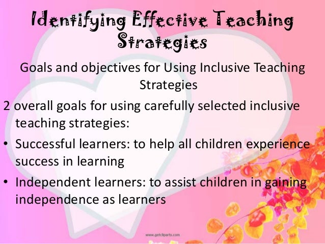 effective teaching strategies for students with Good special education teachers use trial and error to find techniques that work  best for their students here are some effective teaching.
