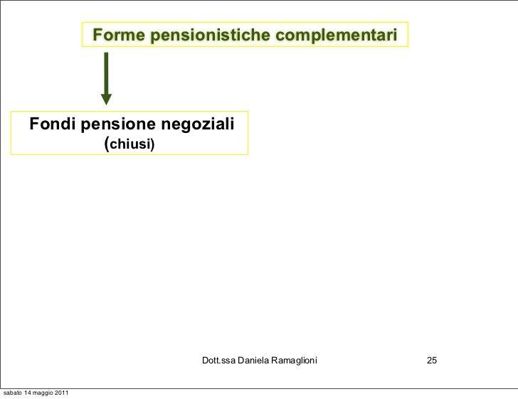 Forme pensionistiche complementari        Fondi pensione negoziali                (chiusi)                                ...