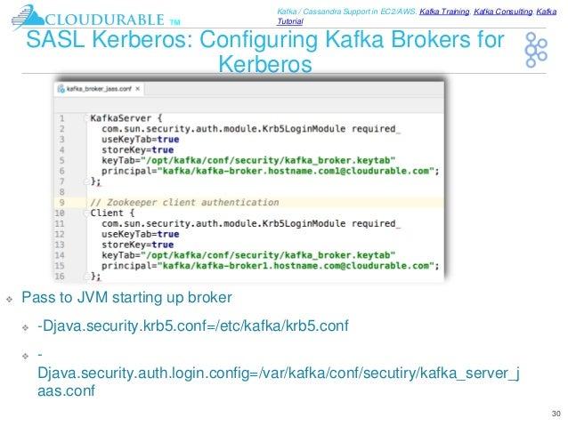 Kafka Tutorial: Kafka Security