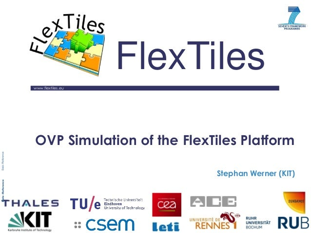 www.flextiles.eu  FlexTiles  OVP Simulation of the FlexTiles Platform  Stephan Werner (KIT)