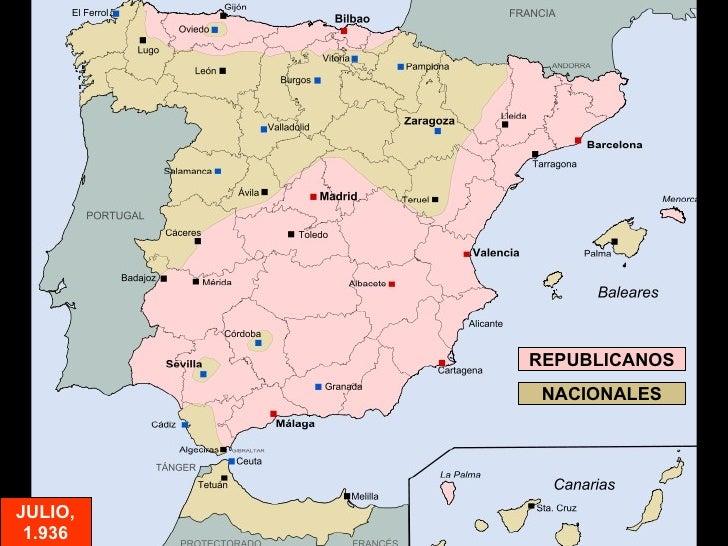 REPUBLICANOS NACIONALES JULIO, 1.936