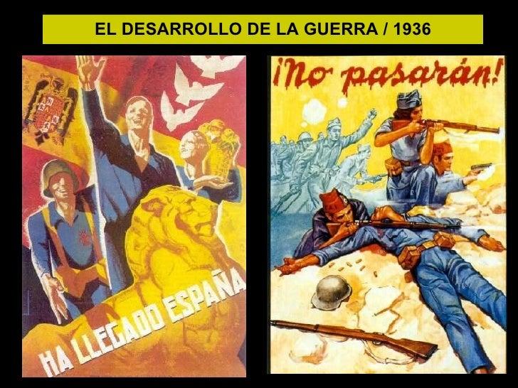 EL DESARROLLO DE LA GUERRA / 1936
