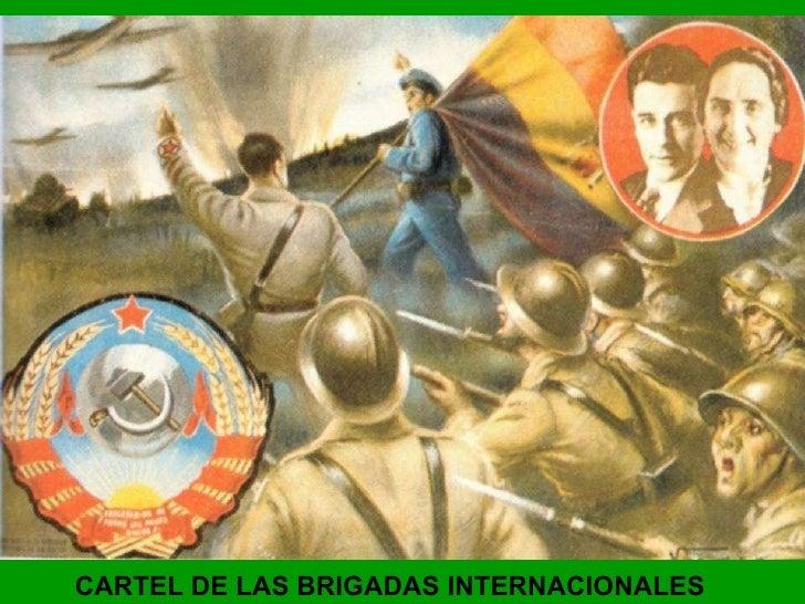 CARTEL DE LAS BRIGADAS INTERNACIONALES