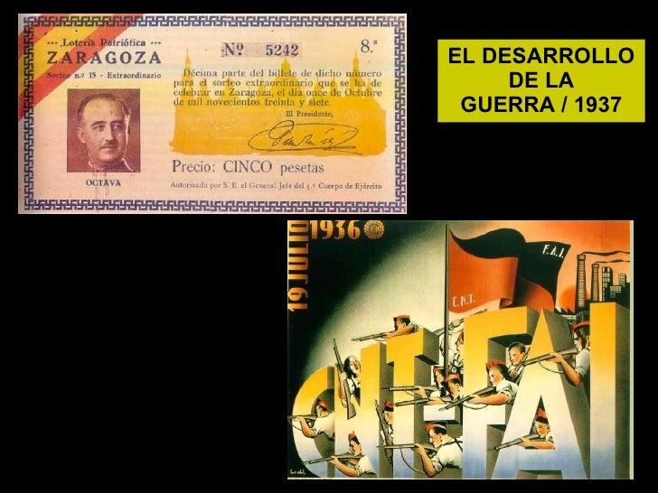 EL DESARROLLO DE LA GUERRA / 1937