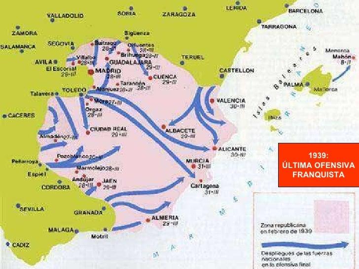 1939: ÚLTIMA OFENSIVA FRANQUISTA