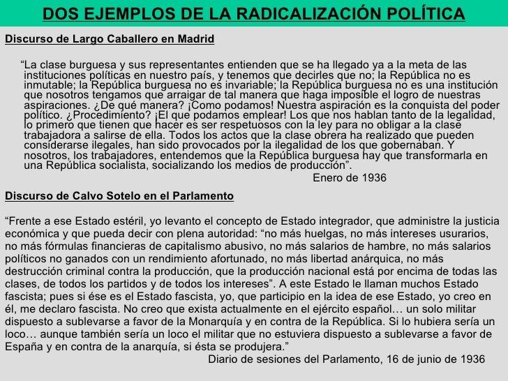 """Discurso de Calvo Sotelo en el Parlamento    """"Frente a ese Estado estéril, yo levanto el concepto de Estado integrador, q..."""