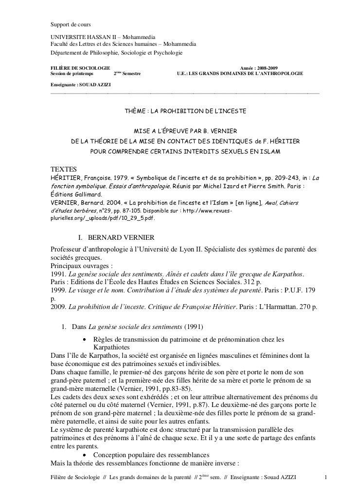 Support de coursUNIVERSITE HASSAN II Ŕ MohammediaFaculté des Lettres et des Sciences humaines Ŕ MohammediaDépartement de P...