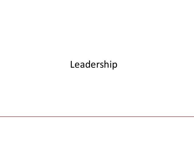 chapter fourteen                               LeadershipMcGraw-Hill/IrwinContemporary Management, 5/e                    ...
