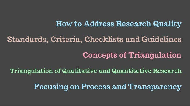Managing Quality In Qualitative Research Slide 2