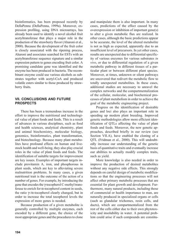 8.mejoramiento del valor nutricional de plantas