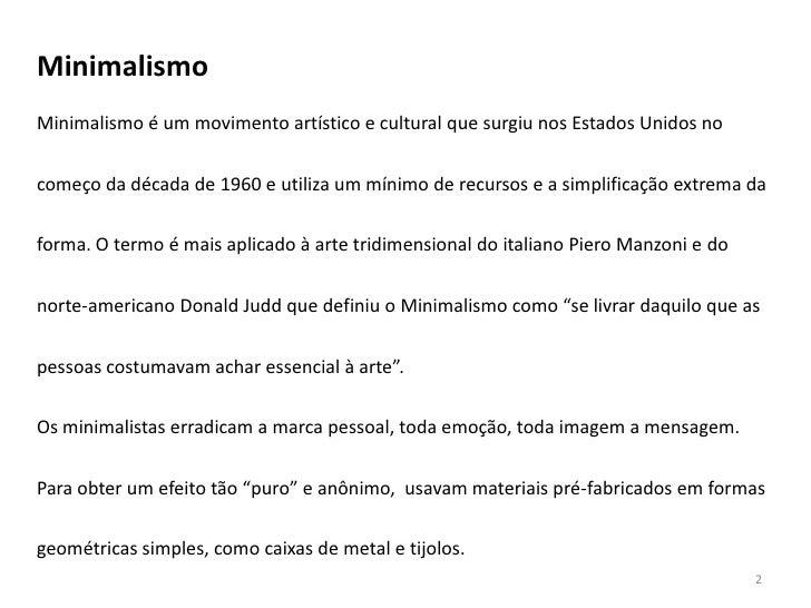 Ensino m dio minimalismo donald judd e dan flavin 11 for Minimalismo caracteristicas