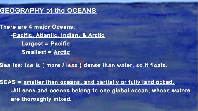 oceans ppt