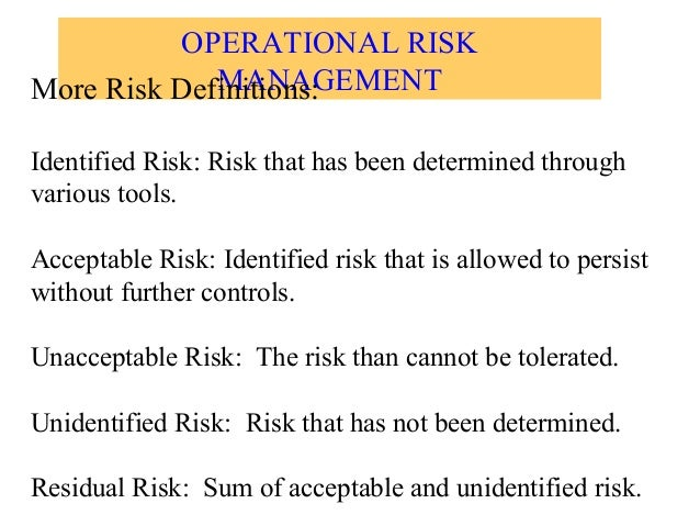 acceptable and unacceptable risks we take in life For instance, the risk of flooding can be accepted once every 500 years but it is not unacceptable in every ten years in other words it means those risks whose benefits are so great, that individuals or groups in society are willing to take or be subjected to the risk.