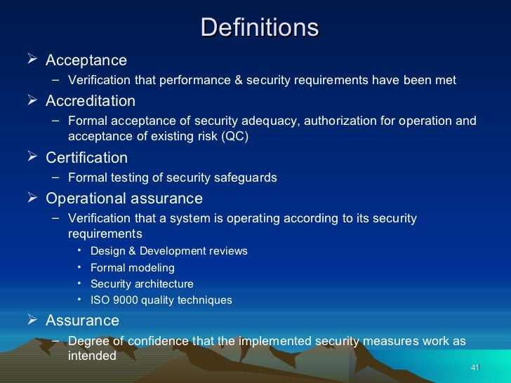 8 Operations Security
