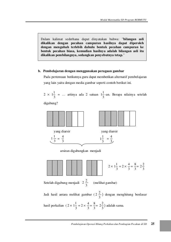 Soal cerita pecahan matematika kelas 4
