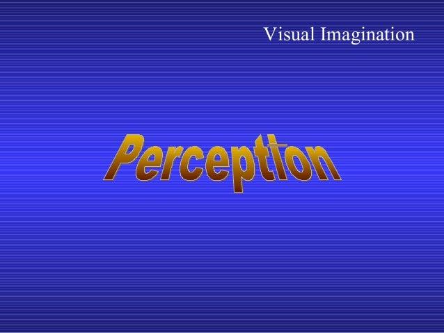 Visual Imagination
