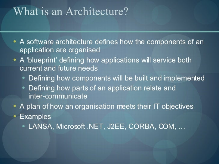 Eight pillars of an enterprise application architecture 6 malvernweather Gallery