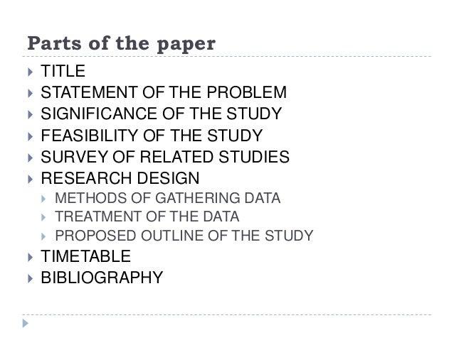Parts of dissertation paper