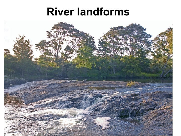 River landforms