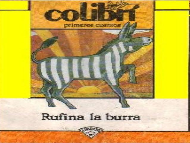 Rufina la burra