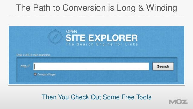 The Path to Conversion is Long & Winding  Then You Check Out Some Free Tools