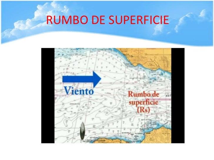 RUMBO DE SUPERFICIE