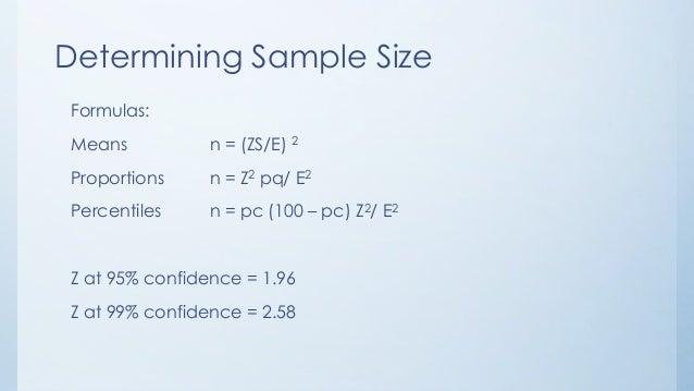 8 sampling & sample size (Dr. Mai,2014)