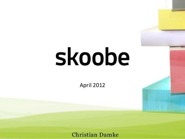 April 2012Christian Damke
