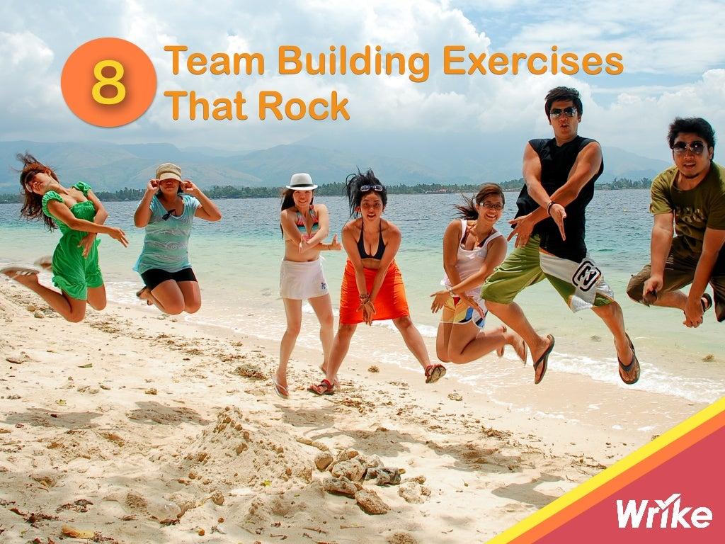 8 Team Building Exercises That Rock