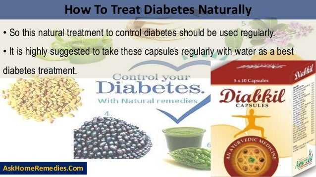 How To Treat High Blood Sugar Levels Naturally
