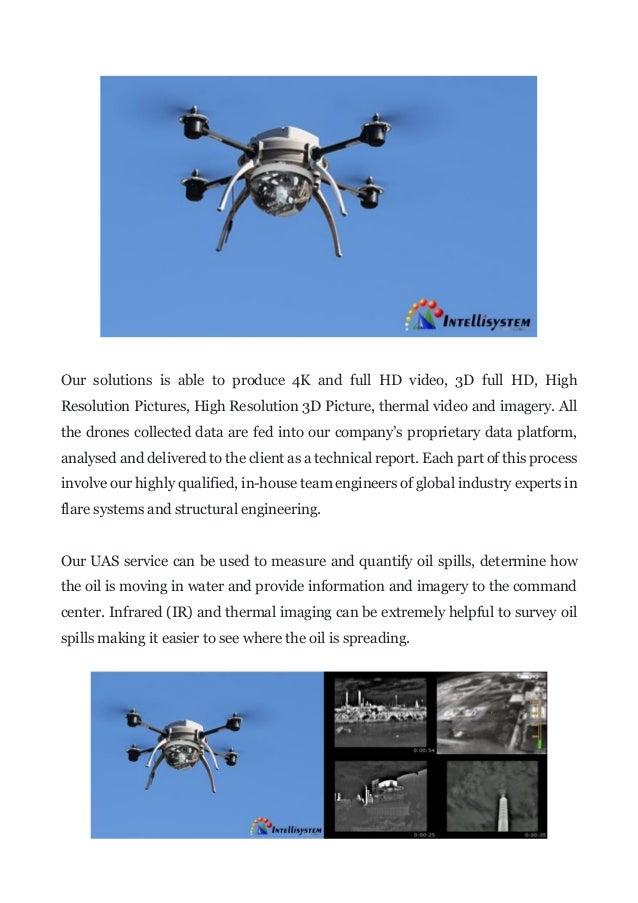 UAS - UAV Inspection & Monitoring Solutions for Oil & Gas