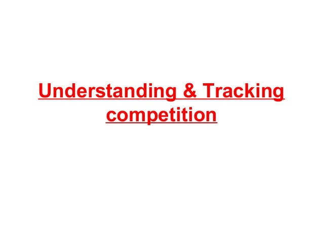 Understanding & Tracking competition