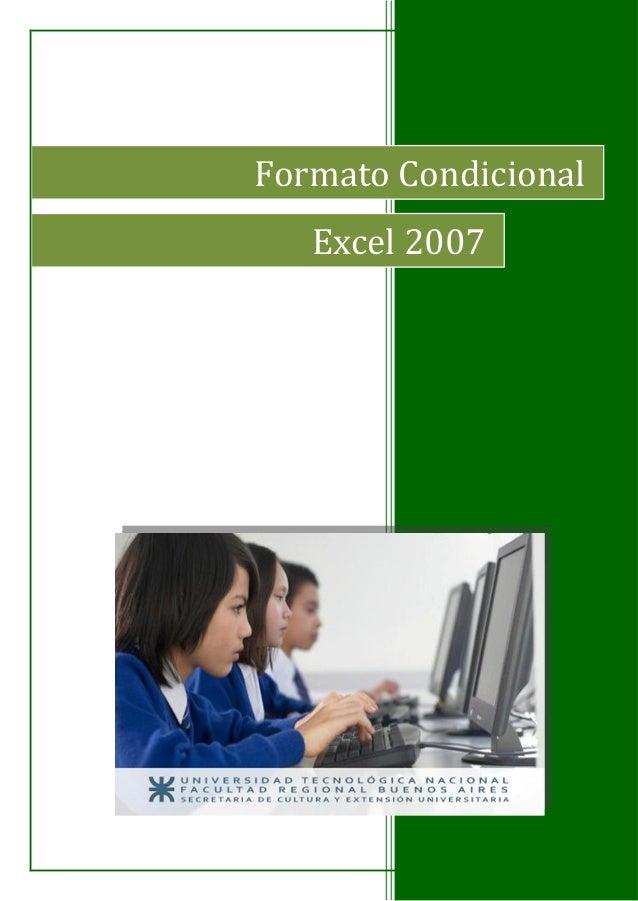 Formato Condicional Excel 2007