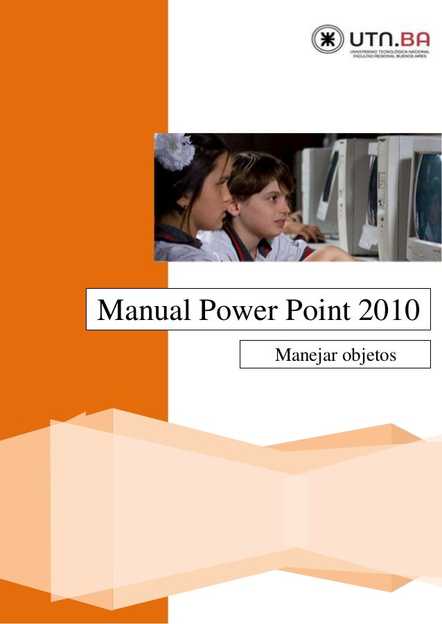 Manual Power Point 2010 Manejar objetos