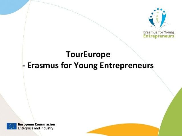 TourEurope - Erasmus for Young Entrepreneurs