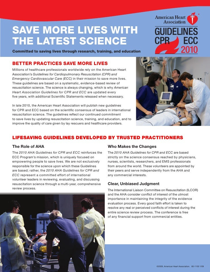 SAVE MORE LIVES WITH THE LATEST SCIENCE Committed to saving lives through research, training, and education               ...