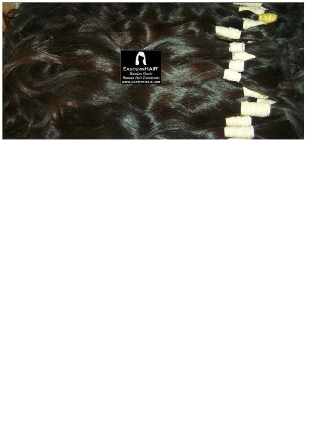 Remy wavy cuticles. Natural darkest brown colors. Fine and long human hair.