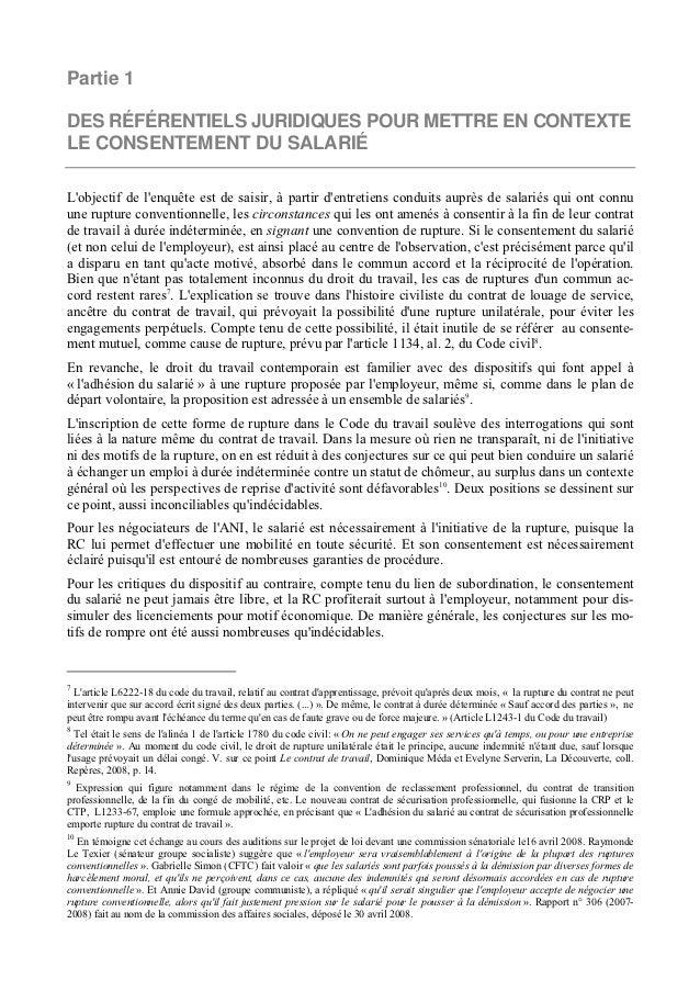 d954285d31b Rupture Conventionnelle du contrat de travail  Etude du RC et Analys…