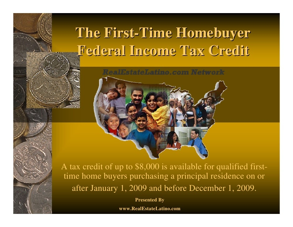 the first time homebuyer federal income tax credit what you need to k. Black Bedroom Furniture Sets. Home Design Ideas