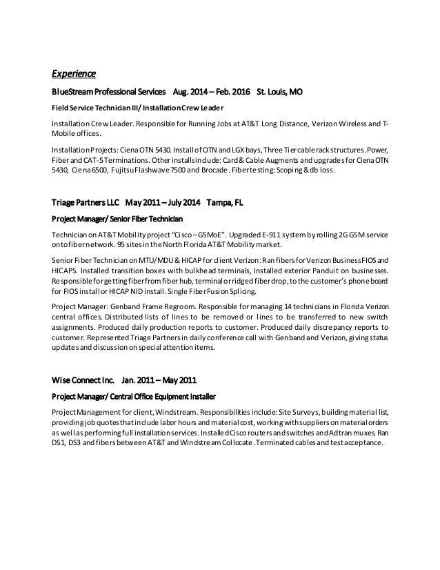 verizon resume choice image resume format examples 2018