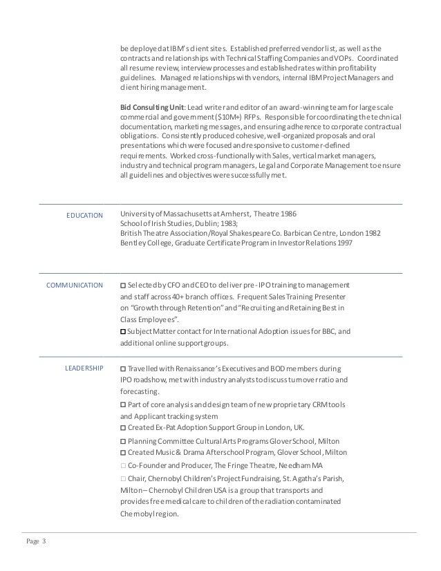 tsr resume