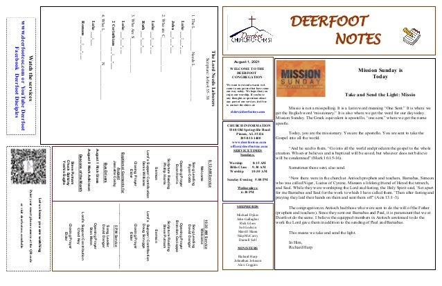 DEERFOOT NOTES August 1, 2021 Let us know you are watching Point your smart phone camera at the QR code or visit deerfootc...