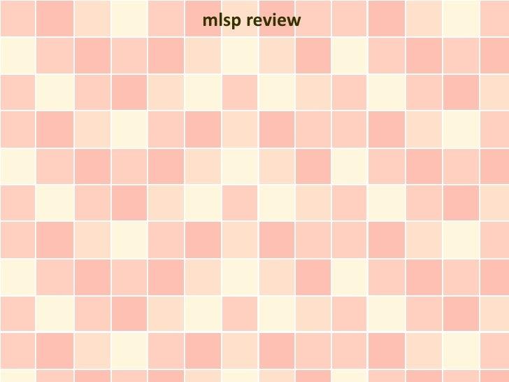 mlsp review